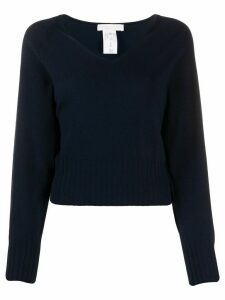 Fabiana Filippi v-neck jumper - Blue