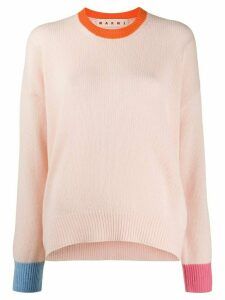 Marni knitted long sleeve top - PINK