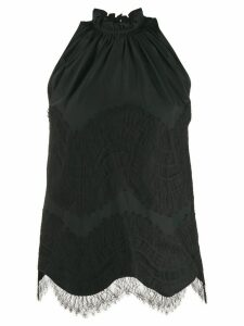 Givenchy lace-overlay tank top - Black
