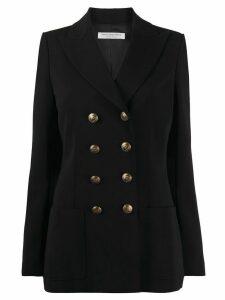 Philosophy Di Lorenzo Serafini double-breasted fitted blazer - Black