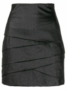 Philosophy Di Lorenzo Serafini layered mini skirt - Black