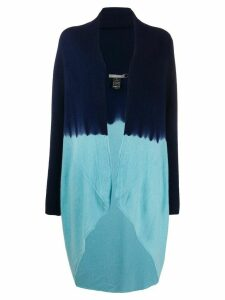 Suzusan colour block cardigan - Blue
