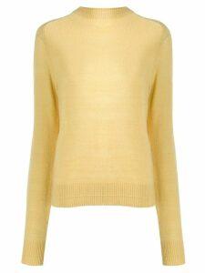 Marc Jacobs crew neck slim-fit jumper - Yellow