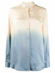 Forte Forte loose-fit degradé shirt - NEUTRALS