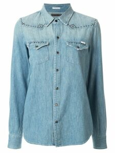 Mother All My Exes denim shirt - Blue