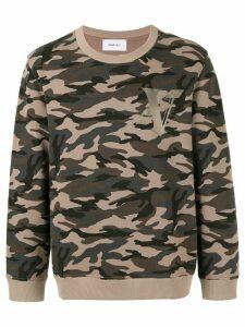 Ports V camouflage print sweatshirt - Green