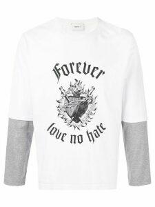 Ports V Forever Love No Hate T-shirt - White