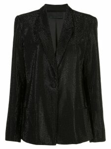 RtA embellished oversized blazer - Black