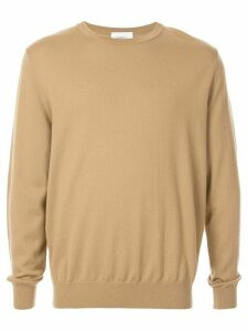 Ports V crew neck sweater - Brown