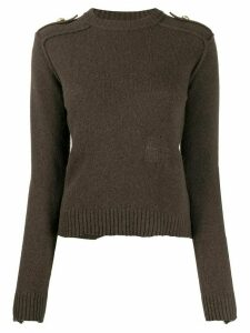 Zadig & Voltaire Nicky long sleeve jumper - Brown