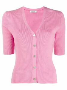Philo-Sofie ribbed-knit top - PINK