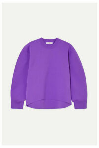 Tibi - Stretch-knit Sweatshirt - Purple