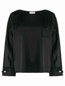 3.1 Phillip Lim boat-neck loose-fit blouse - Black
