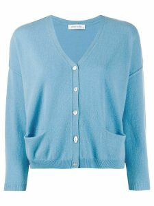 Philo-Sofie dropped shoulder cardigan - Blue