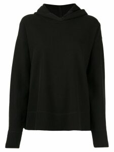 James Perse loose-fit hooded sweatshirt - Black