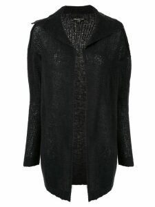 James Perse spread collar cardigan - Black