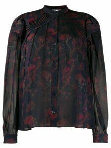 Chloé chiffon printed blouse - Blue