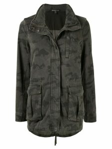 James Perse camouflage print jacket - Green