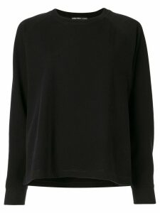 James Perse round neck sweatshirt - Black