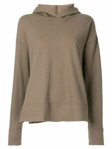James Perse basic hoodie - Green