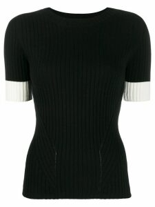 Philo-Sofie short-sleeved knit top - Black