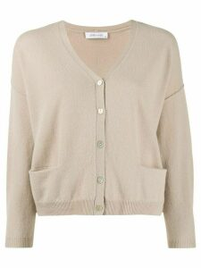 Philo-Sofie dropped shoulder cardigan - Brown