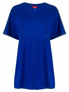 Eckhaus Latta loose fit short sleeve T-shirt - Blue