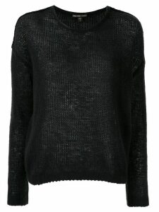 James Perse round neck jumper - Black
