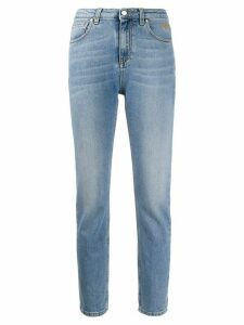 MSGM high-rise skinny jeans - Blue