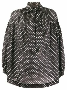 Vivienne Westwood Anglomania polka dot blouse - Black