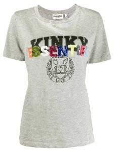 Essentiel Antwerp Vico sequin-embellished T-shirt - Grey