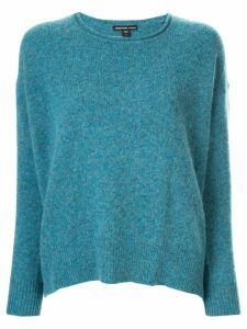 James Perse round neck jumper - Blue