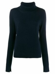 Joseph loose fit polo jumper - Blue
