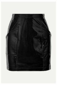 Fleur du Mal - Pvc Mini Skirt - Black
