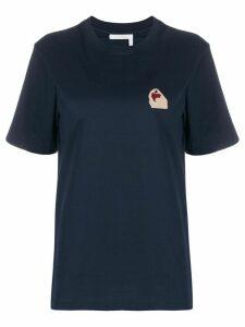 Chloé logo T-shirt - Blue