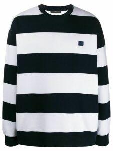 Acne Studios striped sweatshirt - Blue