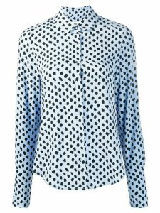 Essentiel Antwerp Van dotted shirt - Blue