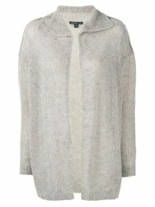James Perse spread collar cardigan - Brown