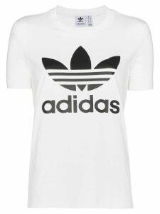 adidas Originals Trefoil logo T-shirt - White