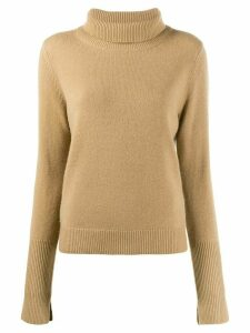 Joseph slim fit polo neck - Brown