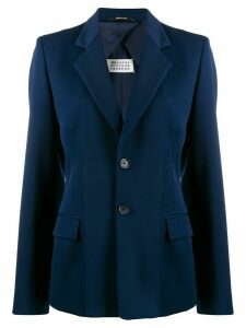 Maison Margiela fitted button blazer - Blue