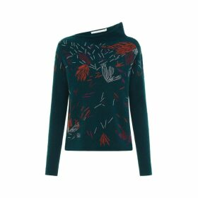 Les 100 Ciels - Emu Embroidered Jumper