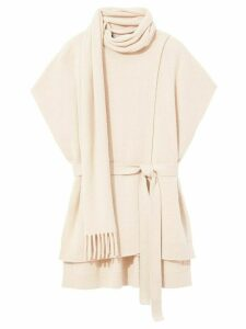 Proenza Schouler cashmere draped sleeveless top - NEUTRALS