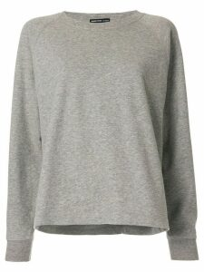 James Perse round neck sweatshirt - Grey
