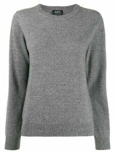 A.P.C. cashmere jumper - Grey