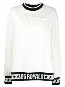 Dolce & Gabbana logo sweatshirt - White