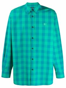 Acne Studios Vichy-check shirt - Green