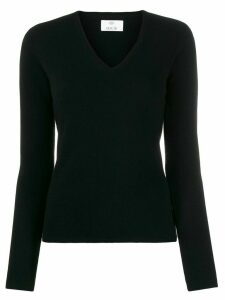 Allude V-neck jumper - Black