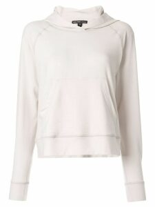 James Perse basic hoodie - White