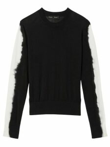 Proenza Schouler tie dye sleeves jumper - Black